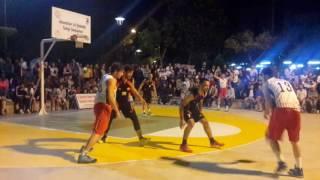 3x3 üniversiteler Türkiye Şampiyonası 2016 Çanakkale final maçı: ODTÜ - ANKÜ