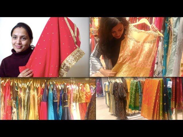 ಮ್ಯಾರೇಜ್ ಶಾಪಿಂಗ್ ಸ್ಯಾರೀಸ್ ಡ್ರೆಸ್ಸೆಸ್   Marriage Shopping - Sarees & Dresses Purchase - Kannada Vlog