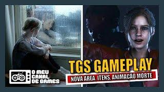 NOVA DEMO GAMEPLAY DA CLAIRE NA TGS 2018 [Resident Evil 2 Remake]