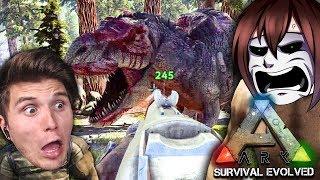Ich hätte diesen T-Rex NIEMALS angreifen dürfen... ☆ ARK: Survival Evolved #37