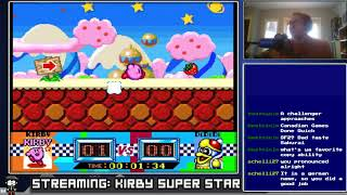 Let's Stream Kirby Super Star [Speedrun?] - 1/2