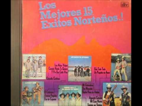 LOS MEJORES 15 EXITOS NORTEÑOS 1989 DISCO COMPLETO1
