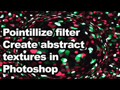 Create abstract textures using pointillize in Photoshop tutorial thumbnail