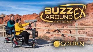 Golden Buzzaround EX Extreme Scooter