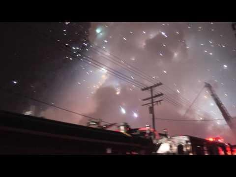 Maywood, CA Magnesium Explosion