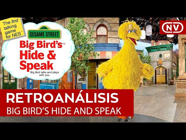 Retroanálisis: Big Bird's Hide and Speak NES