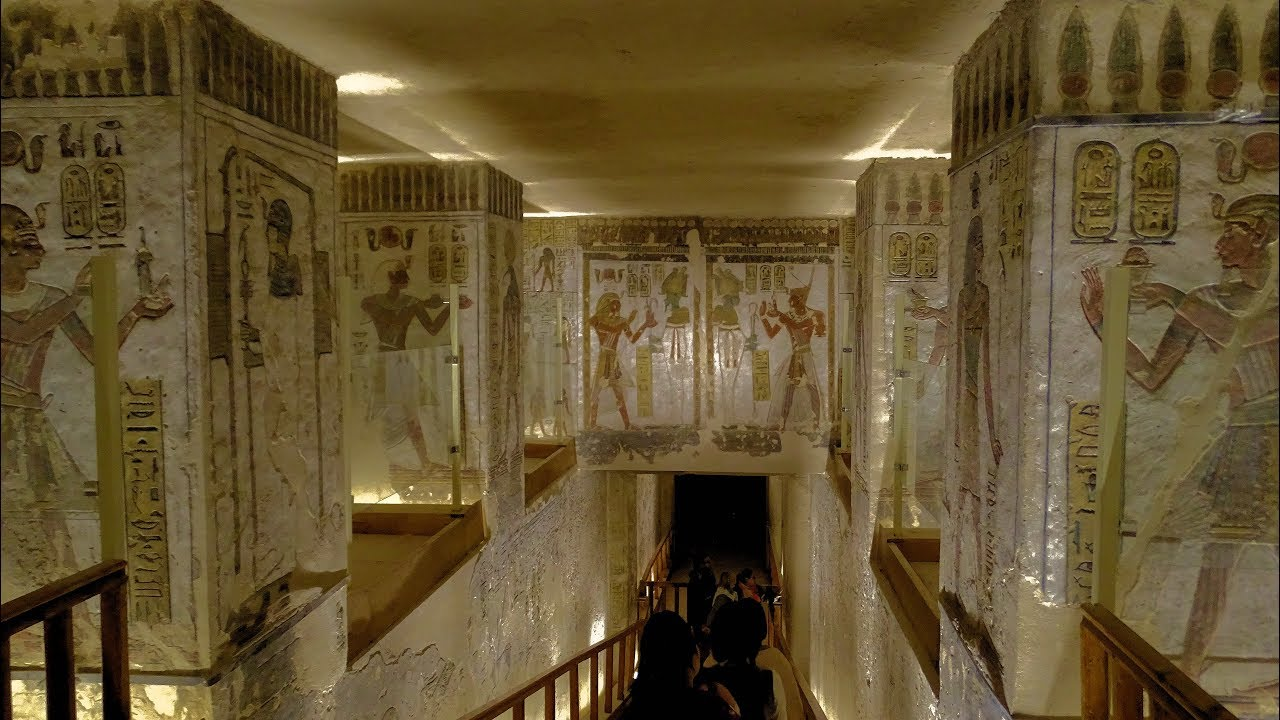 The Tomb Of Ramses Iii In The Valley Of The Kings Egypt