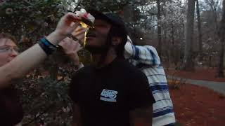 """PRANK """"DRINKING WATER FROM A FLOWER"""" INITIATION RITUAL on SAVION"""