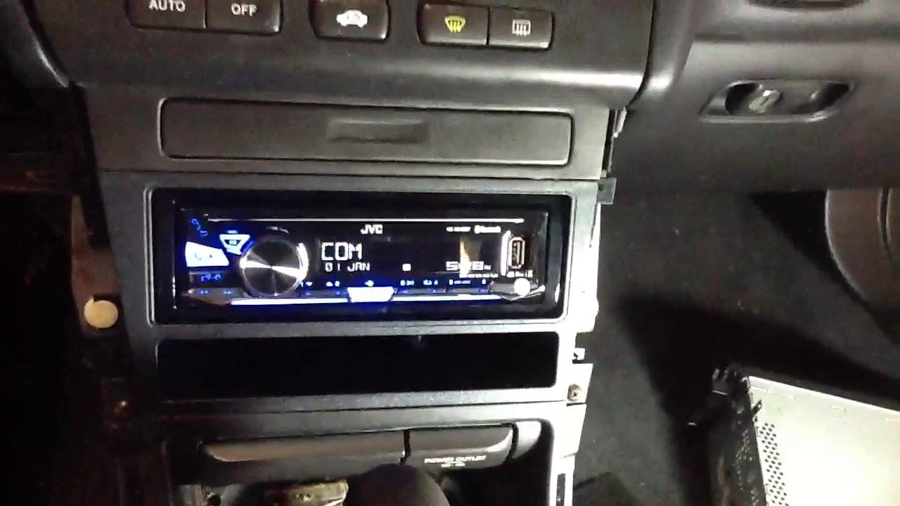 2000 acura tl jvc bluetooth radio usb aux no cd kd x255bt youtube rh youtube com 2000 Nissan Frontier Manual 2000 Mitsubishi Galant Manual