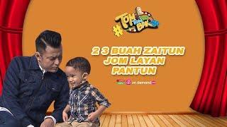 2 3 Buah Zaitun, Jom Layan Pantun | #tomtombak Ep4 | Ada Bakat | 27 September