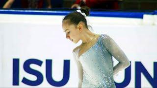 Елизавета Куликова Короткая программа Девушки Гданьск Гран при по фигурному катанию 2021 22