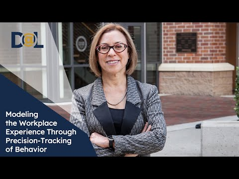 Design@Large: Gloria Mark: Modeling the Workplace Experience Through Precision-Tracking of Behavior