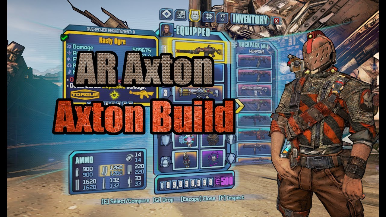 Borderlands 2: Assault Rifle Axton (Revisited) - Build