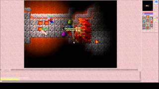 Classic Tibia - Hiberna 5 demons soloed (Tibia 7.3)