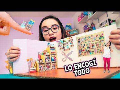 ENCOG MI ESTUDIO COMPLETO! *todo es mini*