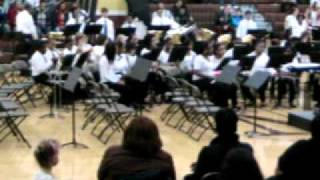 Memorial Jr. High Concert Band 11-15-11 Spirit of the Sea