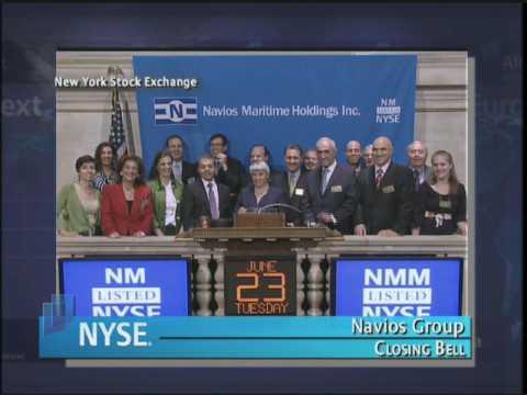 24 June 2009 NYSE Closing Bell Navios Group C
