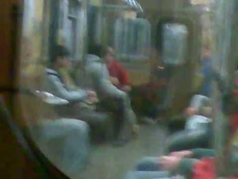 Metro Tbilisi ბავშვების ჩხუბი მეტროში