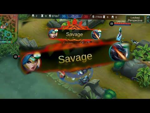 A Savage by Freya😎 Beast Mode!!Mobile Legend