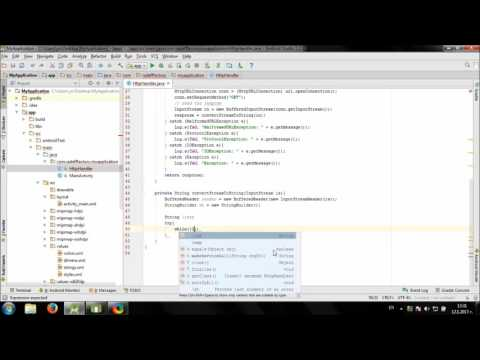Working with JSON in Android Studio