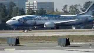 Alaska Airlines Flying Fish