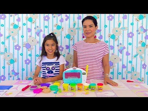 Haciendo PASTELITOS de PLAY DOH | AnaNana Toys