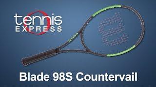 Wilson Blade 98S Countervail Tennis Racquet Review | Tennis Express