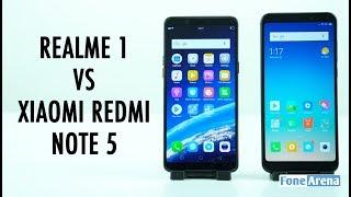 Realme 1 vs Xiaomi Redmi Note 5