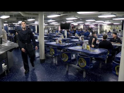Life on an aircraft carrier