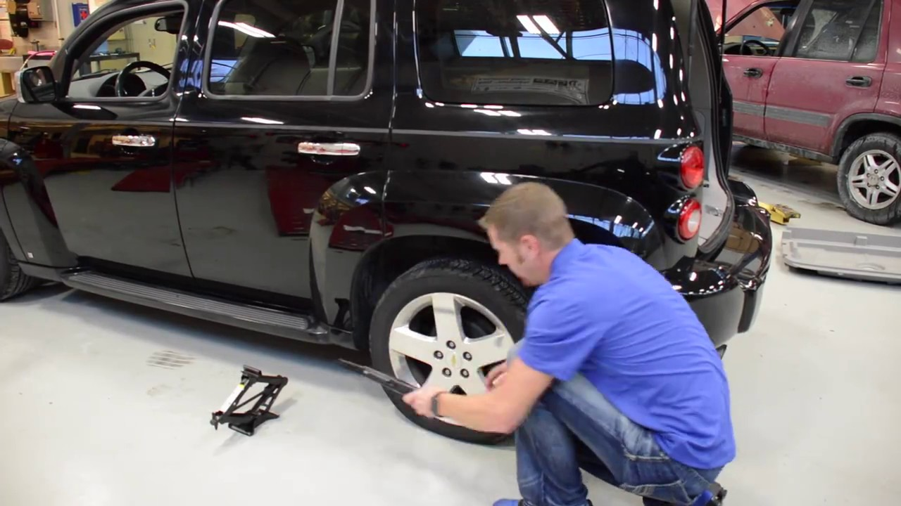 How To Change A Flat Tire Step By Step Youtube