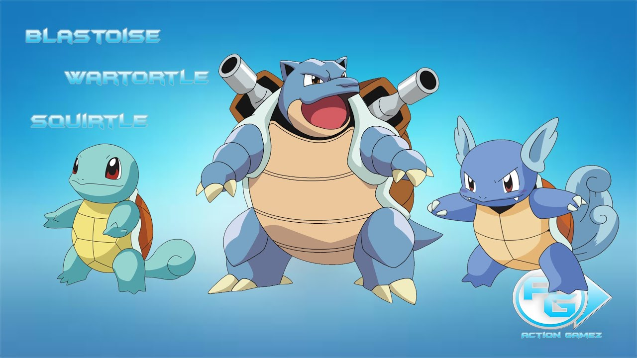 Respawn do Blastoise, Wartortle e Squirtle - OT Pokemon ...
