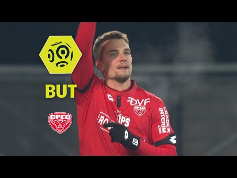 But Benjamin JEANNOT (52') / Dijon FCO - Girondins de Bordeaux (3-2)  / 2017-18