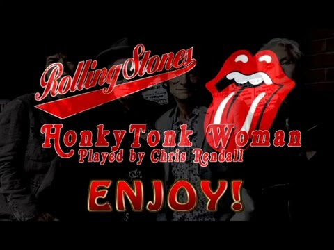 The Rolling Stones - Honky Tonk Woman - Instrumental cover version