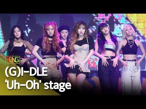 [4K] (G)I-DLE((여자)아이들) 'Uh-Oh'(어-오) Showcase Stage [통통TV]
