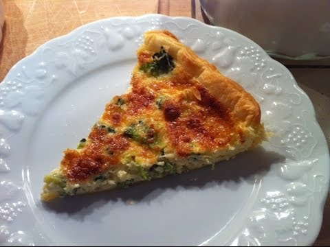 How to Make Broccoli Cheese Quiche