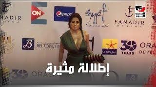 إطلالة مثيرة جديدة لـ«رانيا يوسف» في افتتاح مهرجان الجونة السينمائي