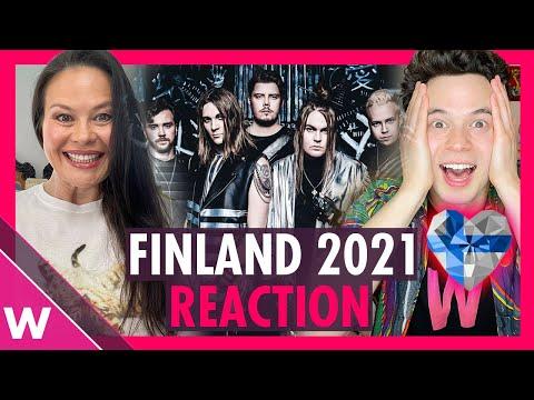 """Finland Eurovision 2021 Reaction   Blind Channel """"Dark Side"""""""