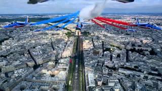 14 juillet 2015: vidéo embarquée du leader de la PAF