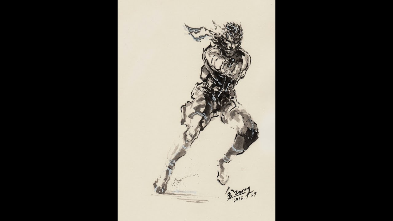 Metal Gear Solid Solid Snake Live Art