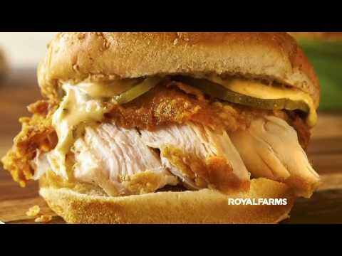 Royal Farms World Famous Chicken SANDWICHES