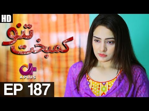 Kambakht Tanno - Episode 187 - A Plus ᴴᴰ Drama