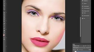 Как сделать макияж в Adode photoshop cs6