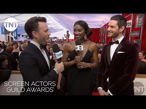 Ben Barnes: Red Carpet   23rd Annual SAG Awards  TNT