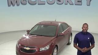 R98387JA Used 2013 Chevrolet Cruze 1LT FWD 4D Sedan Bronze Test Drive, Review, For Sale -