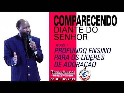 Baixar 06/07/2019 PARTE 1 PROFUNDO ENSINO PARA OS LÍDERES DE ADORAÇÃO  COMPARECENDO DIANTE DO SENHOR