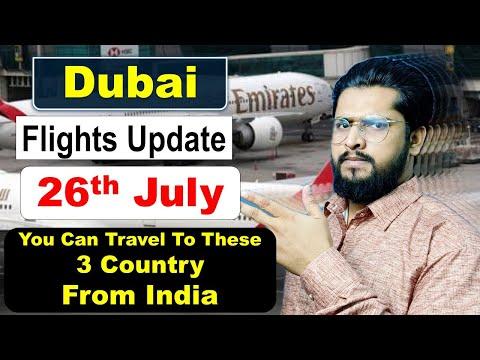 Dubai Flights Update Today- India To Dubai Flights Update