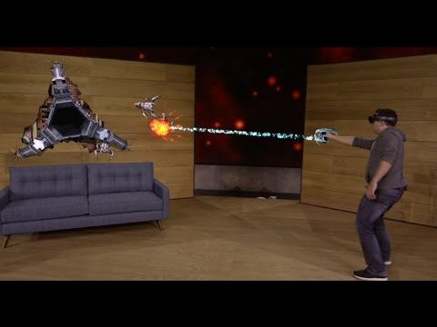 Microsoft HoloLens Project Xray - Présentation octobre 2015