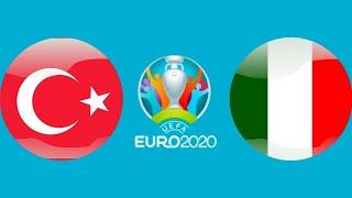 Футбол Евро 2020 Лоренцо Инсинье забил гол Турция Италия Чемпионат Европы по футболу 2020