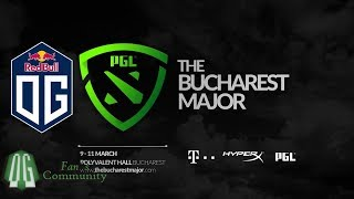 OG vs MNH - Game 1 - The Bucharest Major - Europe Qualifier - Final.