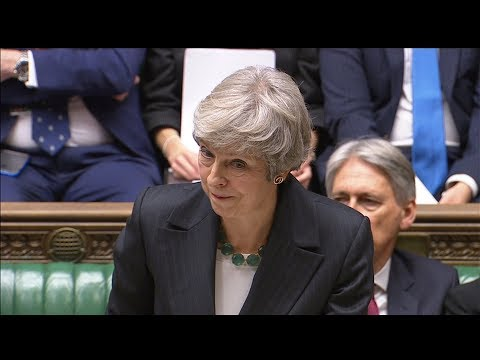 LIVE: British Prime Minister Theresa May makes a statement on Brexit to parliament